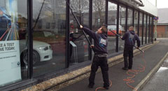 Commercial Window Cleaning in North Devon