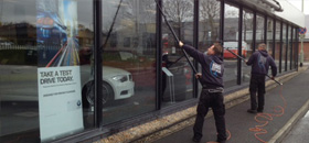 Commercial Window Cleaning North Devon